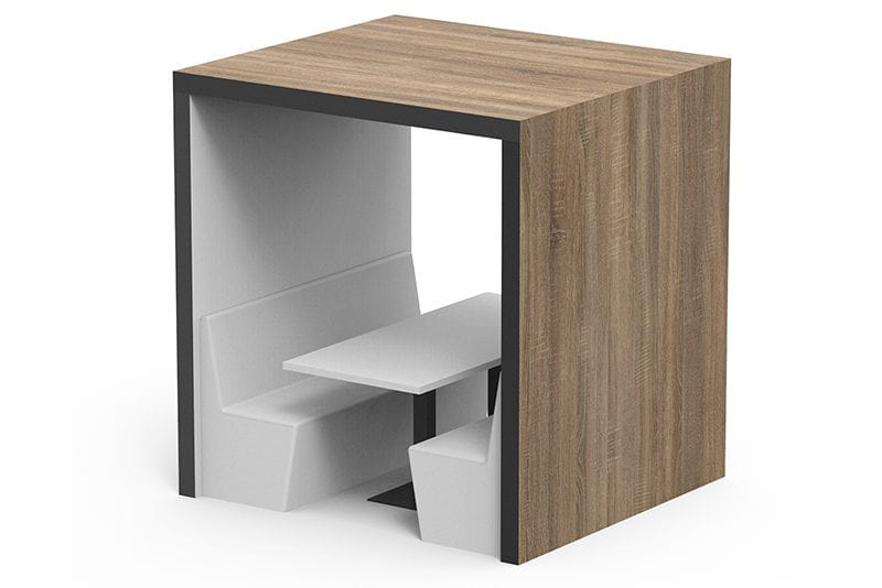 Shack 100 Flat Roof Meeting Booth Main Product Image