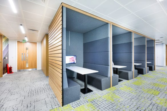Workagile - Creating an urban work space with WSP Manchester 1